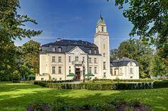 Borowa Palace, Borowa, Lower Silesia, Poland.