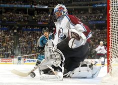Great Hockey Photos You've Just Seen for the First Time! Pepsi, Patrick Roy, Women's Hockey, Goalie Mask, Colorado Avalanche, National Hockey League, Denver Broncos, Nhl, Baby Strollers