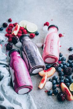 Very berry summer smoothies