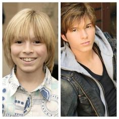 This is Dustin from Zoey 101 then and now.       Whoa.