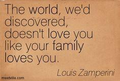 Louis Zamperini On Quotes