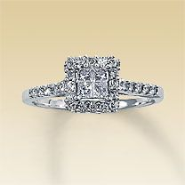 My engagement ring. <3