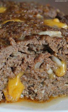 Jam Hands: Cheeseburger Keto Meatloaf