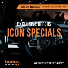 Enjoy March's exclusive parking deals with @iconparkingnyc and Save up to 20% OFF 🚘 Click Link in Bio and check our Specials.  #IconParkingNYC #ParkWithUs Icon Parking, Nyc, Link, Check, New York