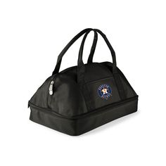 Picnic Time Houston Astros Potluck Insulated Casserole Tote, Black