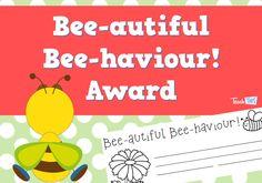 Bee-autiful Bee-haviour Award