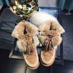 2017新款时尚流苏雪地靴女内增高短靴厚底雪地棉保暖加绒靴子冬季