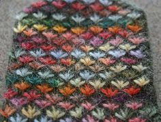 crochet different stitch - pretty