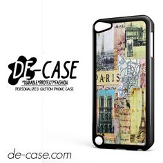 Paris France DEAL-8470 Apple Phonecase Cover For Ipod Touch 5