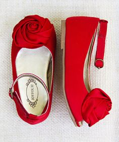 Another great find on #zulily! Red Revaline Flat & Hair Clip by Joyfolie #zulilyfinds