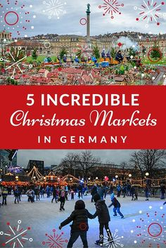 The Best Christmas Markets in Germany Top 5 German Christmas Markets in Stuttgart, Germany. Christmas Markets Germany, German Christmas Markets, Christmas Markets Europe, Christmas Travel, Holiday Travel, Christmas Fun, Christmas Lights, Visit Germany, Germany Travel