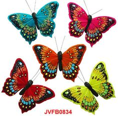 The Artificial pastel butterflies are the elaborately handcrafted butterflies with exquisite design.Beautiful Feather Butterflies in assorted colors and sizes! Artifical Butterflies-Decorative Butterflies-Floral Crafts.