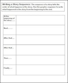 2 free great story sequence graphic organizers