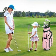 Golf Stand Bags, Golf Bags, Pub Golf, Best Golf Club Sets, Mens Golf Clubs, Ladies Golf, Women Golf, Golf Fashion, Atlanta Braves