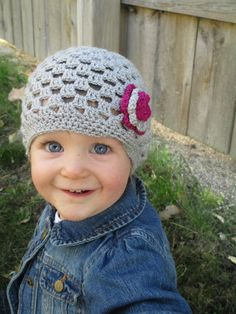 Silver Sparkle Baby Girl Hat - 12 months