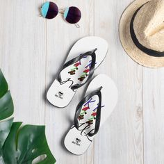 KRAZI MOGUL Flip-Flops by HouseofMogul1 on Etsy White Flip Flops, Beach Flip Flops, Beach Clothes, Outdoor Outfit, Flipping, Soft Fabrics, How Are You Feeling, Just For You, Slippers