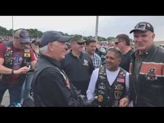 Rex Tillerson Rides Harley To a Biker Rally - Memorial Day Weekend - 5/28/2017 - YouTube