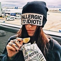Do you start sneezing uncontrollably every time you're in the presence of idiots? You may be allergic....and lucky for you, I have the perfect remedy! The allergic to idiots beanie is ✨brand new✨ on JACVANEK.COM! Tag a friend who needs it and go check out the rest of my holiday collection (also available at @wildflower.longisland)! ✨
