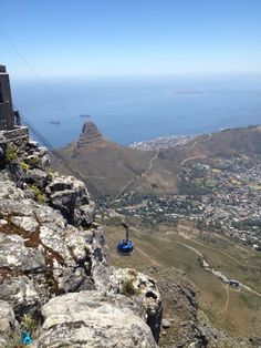 Cable car in Cape Town!