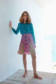#vintage #greekfashion #islands #aegean #designers http://www.living-postcards.com/fashion-style/christina-ecconomou-fashion-designer#.VJNCoyusUrU