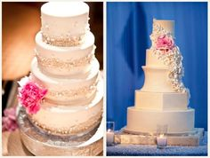 i dont even eat wedding cakes but these look amazing!