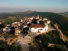 The historical village of Marvão, in Alentejo, southern Portugal