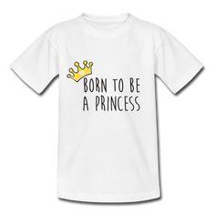 T-shirt enfant PRINCESS Gold Coton BIO Cadeau enfant personnalisé Cadeau bébé personnalisable Coton Bio, Kids Fashion, Mens Tops, Shirts, Fashion Styles, Junior Fashion, Dress Shirts, Babies Fashion, Shirt