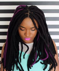 25 Ways to Wear your Faux Locs