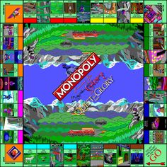 Quest for Glory Monopoly: Board Game