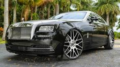 A Rolls with flared arches!!! Whatever next??