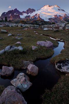 Mount Baker From Park Butte, Washington