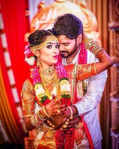 @suria_velan_tnfc posted on Instagram • Aug 8, 2020 at 3:59pm UTC Hindu Wedding Photos, Indian Wedding Couple Photography, Outdoor Wedding Photography, Tamil Wedding, Marriage Poses, Marriage Images, Pre Wedding Photoshoot, Wedding Poses, Wedding Couples