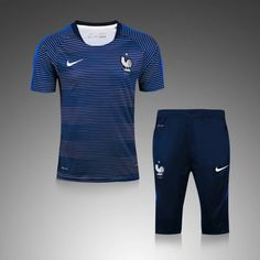 Maillot Training France Bleu Blanc