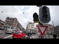 The Traffic Lights Went Out in Amsterdam...You Won't Believe What Happen...