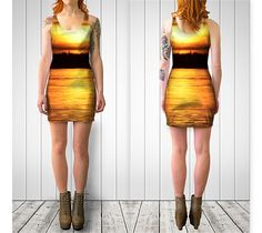 Sunset Bodycon Dress I preview #1