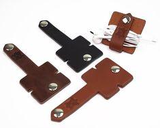 Earphone Organizer, Headphone Organizer, USB Cable Holder, Earphone Holder, Cable Wrap, Cord holder,