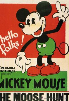 MICKEY MOUSE THE MOUSE HUNT