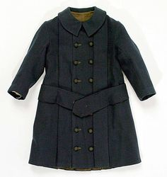 1880s Navy coat for a child