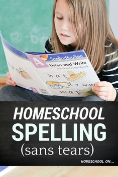 Homeschool spelling doesn't have to be dull and arduous. Come find out an easier approach to homeschooling, build a strong foundation, and teach your kids to spell with this awesome homeschool curriculum (plus watch a video of my kids teaching each other, love it!
