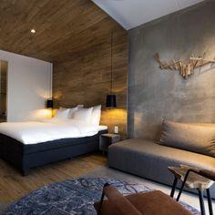 Hotel de Sterrenberg in Otterlo (the Netherlands) Home Bedroom, Master Bedroom, Bedrooms, Toddler Girl Bedding Sets, Quality Hotel, Hotel Bed, Bedding Websites, Design Hotel, Headboards For Beds