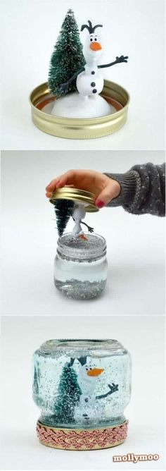 DIY Ola Snow Globe.
