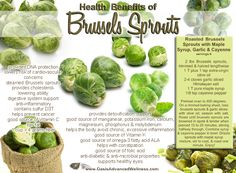 Roasted Brussel Sprouts with Maple Syrup; Maybe if I try this one my husband will eat them.   :)