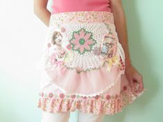 Vintage Girl Art Apron   Flickr - Photo Sharing!