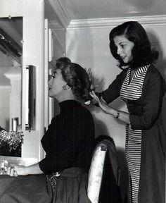 #joancrawford #vintage #actresses #Hollywood #PierAngeli #hairstyles #hair #fashion