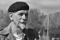 RICCARDO - A black and white portrait of a man