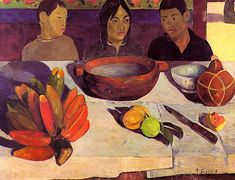 by Paul Gauguin in oil on canvas, done in . Find a fine art print of this Paul Gauguin painting. Henri Matisse, Henri Rousseau, Paul Gauguin, Gauguin Tahiti, Painting Prints, Art Prints, Oil Paintings, Impressionist Artists, Oil Painting Reproductions