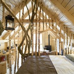 Glamping, Quonset Hut, Chalet Style, New Business Ideas, Earth Homes, Wood Interiors, Little Houses, Tiny Houses, Cool Rooms