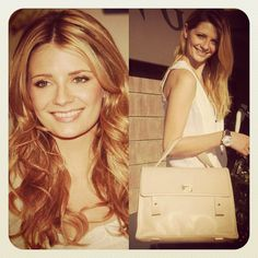 the VIVIANNE bag & Mischa Barton, known as a British-American fashion model, film, television, and stage actress, best known for her role as Marissa Cooper in the American television series The O.C...