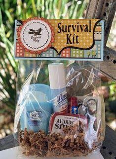 Cute teacher gift and oh so practical!