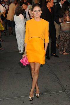 Olivia Palermo in Orange